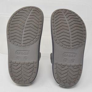 CROCS Shoes - Crocs Kids Crocband Clog Size 9 Grey Waterproof